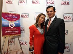 meeragandhivikram-snapsindia1 Re-cap of Meera Gandhi s film screening: Giving Back